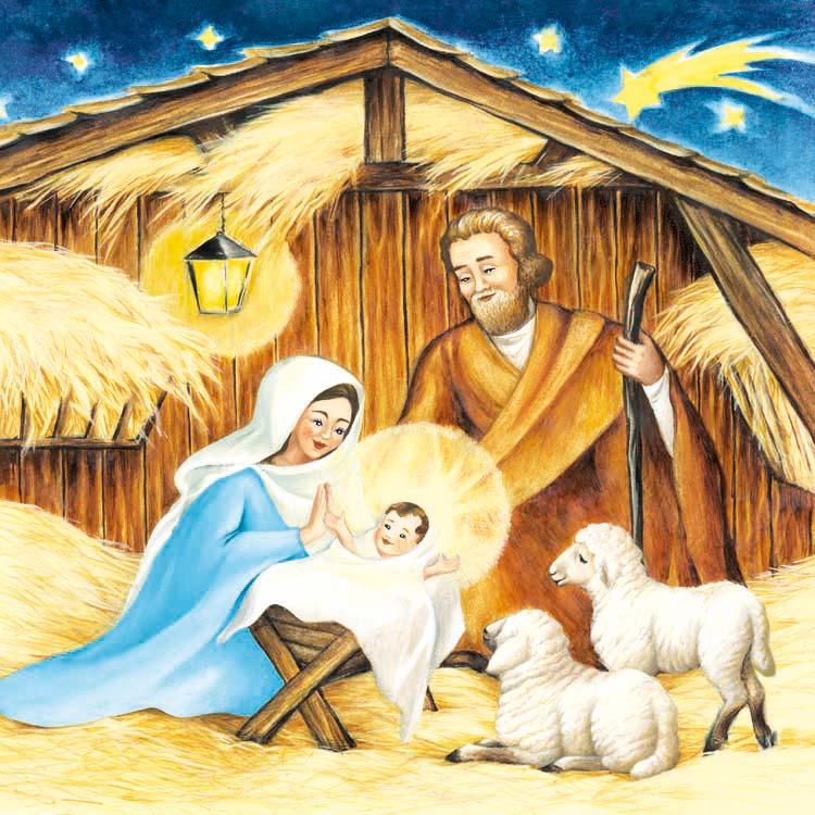 станислава поддерживала иисус родился в хлеву картинка работы